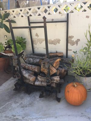 Antique fire wood rack for Sale in Whittier, CA