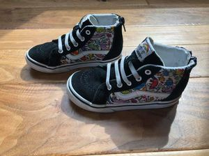 Vans Dallas Clayton Shoe toddler size 9.5 for Sale in Fairport, NY