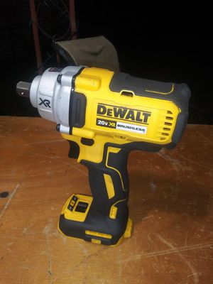 $100. Used-like-new. DEWALT 20 V. 1/2 in. Impact Wrench with Detent Pin Anvil (Tool-Only) for Sale in Morrow, GA