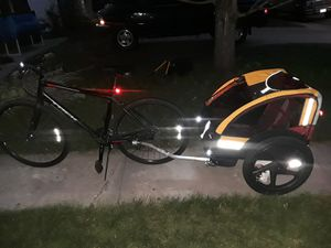Bike and trailer for Sale in Denver, CO