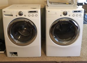 LG front load washer and Gas Dryer for Sale in Gilbert, AZ