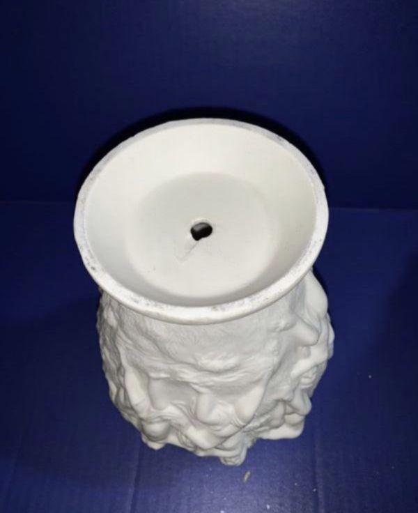 Angels White Ceramic Vase