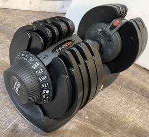 ATIVAFIT Adjustable Dumbbell 71.5 Pounds(2.5-32.5KG) Fitness 1 PCS for Sale in Santa Clarita, CA