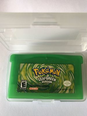 Pokémon Leaf Green Nintendo Game Boy Advance for Sale in South Gate, CA