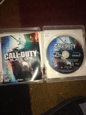 Ps3 cod black ops - call of duty for Sale in Evansville, IN