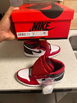 Air Jordan 1 satin red for Sale in Washington, DC