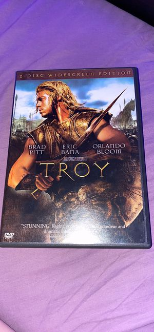 TROY 2 disc widescreen edition DVD for Sale in Merrick, NY