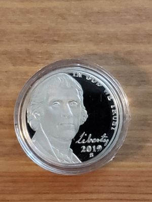 2019 S proof nickel for Sale in Westminster, CA