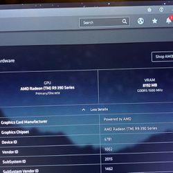 Radeon 390x 8gb gpu trade for Sale in DeBary,  FL