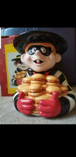 Vintage Hamburglar Cookie jar for Sale in Riverside, CA