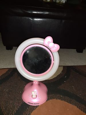 Hello Kitty light up mirror for Sale in Apopka, FL