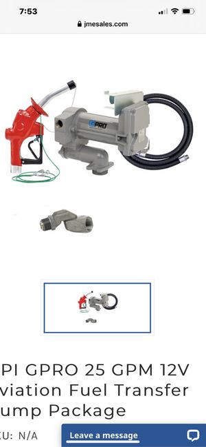 Fuel transfer pump for Sale in Mentor, OH