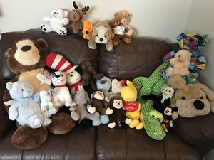 Over 20 stuffed animals!! for Sale in Lake Worth, FL