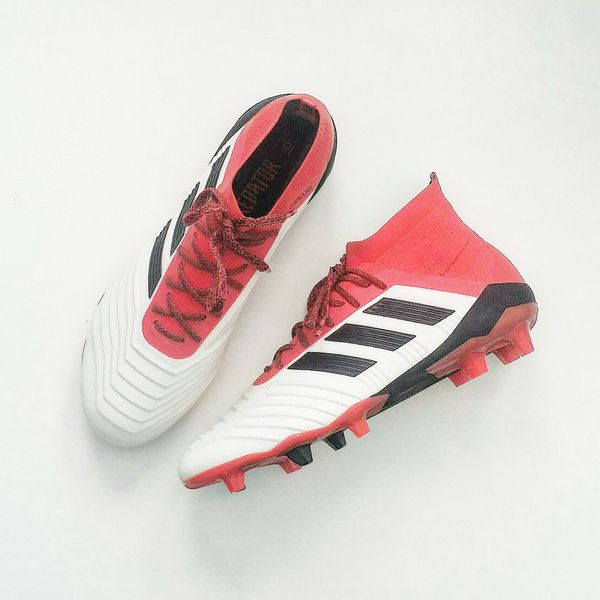 fe751215ef0 Adidas Predator 18.1 FG   AG Cold Blooded Soccer Cleats Football Boots