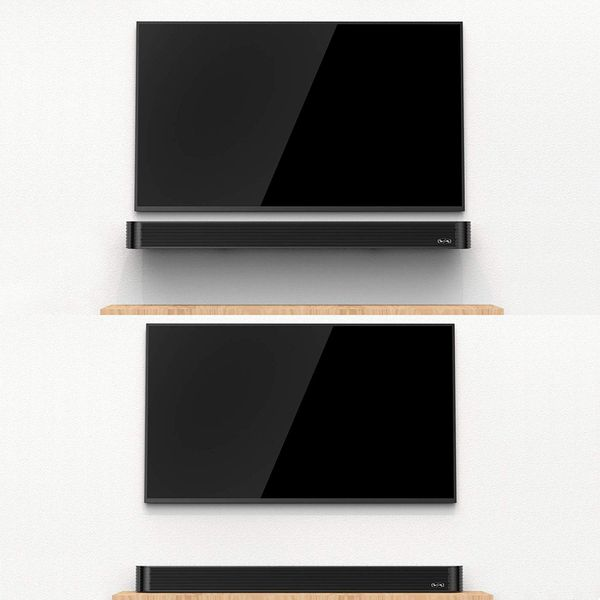 Sound bar(2020 Model), 90Watt Bestisan Sound bar Wired and Wireless Bluetooth 5.0 Audio Speakers with Subwoofer Connection Port (34Inches)