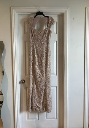 Beige/ pastel pink- Ralph Lauren size 6 dress for Sale in Long Beach, CA