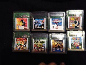 Gameboy color games bundle for Sale in San Antonio, TX