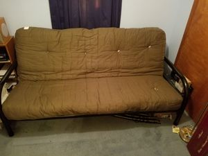Green futon 50.00 for Sale in Grafton, OH