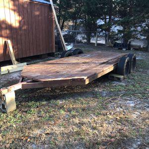 heavy duty trailer 6 1/2 feet x 16/feet long for Sale in Lexington, SC