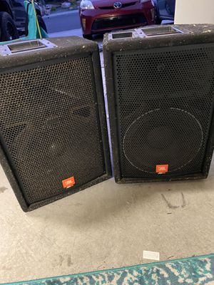 2 JBL JRX 100 speakers for Sale in Carlsbad, CA
