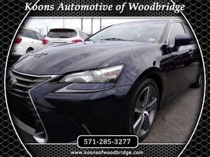2016 Lexus GS 200t for Sale in Woodbridge, VA