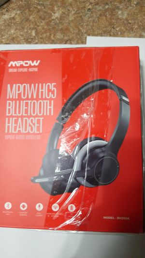 MPOW HC5 BLUETOOTH HEADSET. New for Sale in Indianapolis, IN