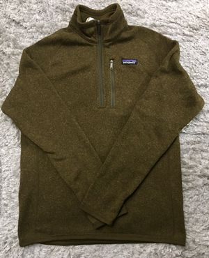 NEW Patagonia Men's Brown 1/4 Zip Better Sweater Pullover Small for Sale in Chicago, IL