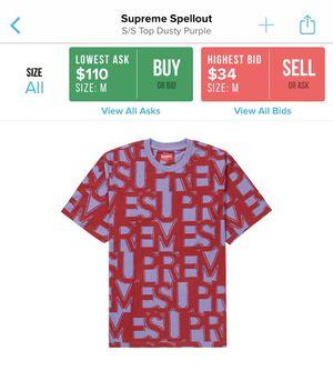 Supreme Spellout T-shirt for Sale in Salt Lake City, UT
