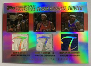 2003-04 Topps Contemporary LA Elton Brand Maggette Richardson Jersey #175/250 for Sale in Coral Springs, FL