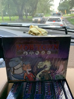 Mob town board game for Sale in Tampa, FL