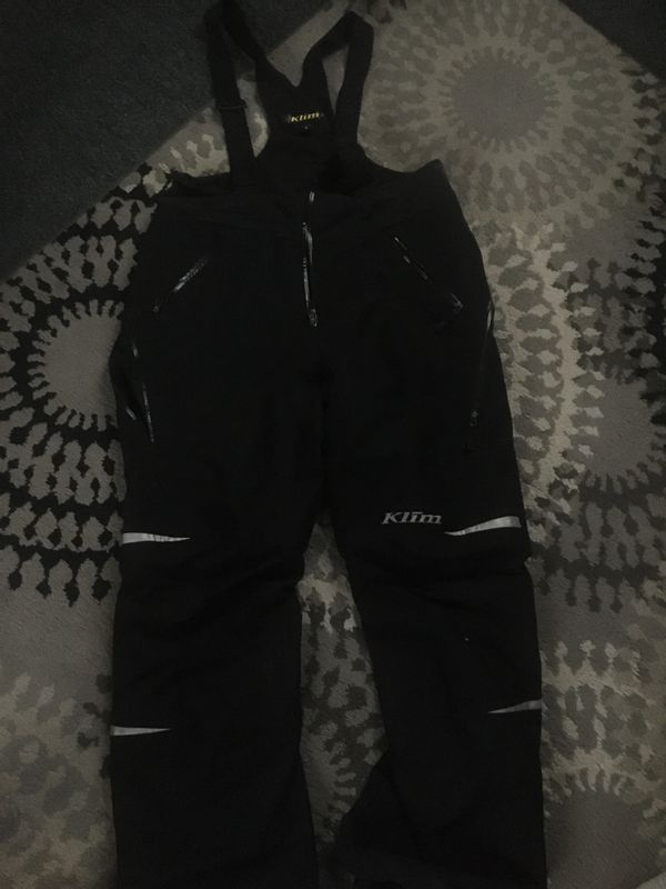 Klim snowmobile bibs/pants