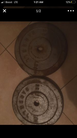 Barbell weights for Sale in Los Angeles, CA