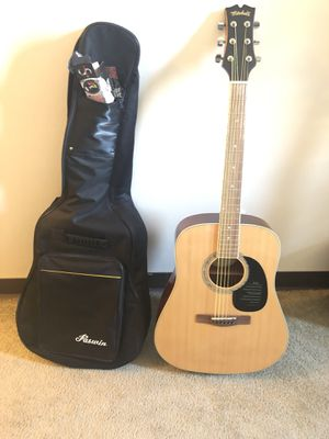 Mitchell D120 Dreadnought Acoustic guitar + Bag + Tuner for Sale in East Liberty, PA