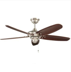 Altura 48 in. Indoor/Outdoor Brushed Nickel Ceiling Fan Home and Garden TX for Sale in Houston, TX