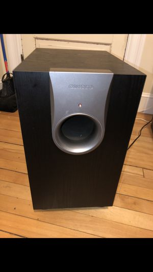 Onkyo Subwoofer SKW - 550 for Sale in Attleboro, MA
