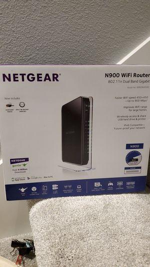 Netgear N900 wifi router for Sale in Beaverton, OR