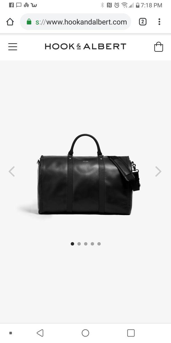 Hook & Albert Weekender Garment & Duffle Bag