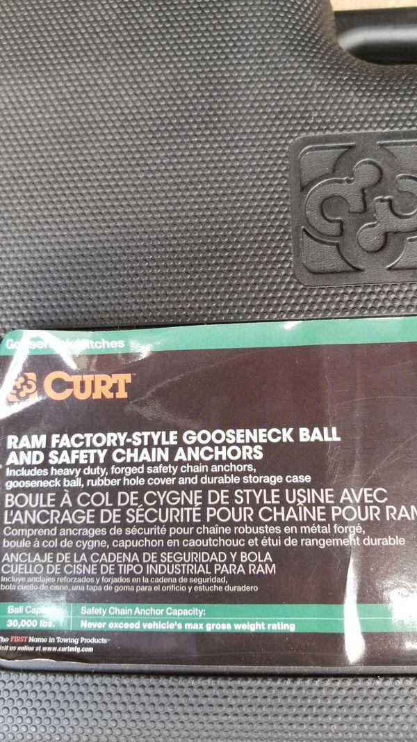 Gooseneck ball, hitch