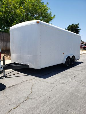 18'ft Enclosed trailer for Sale in Moreno Valley, CA