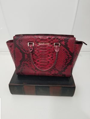 Michael Kors Leather Handbag Tote for Sale in Jackson Township, NJ