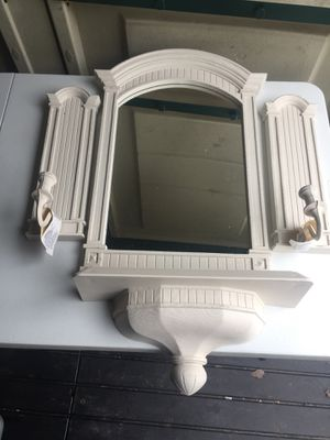4 Wall Mounted Piece Mirror Set. for Sale in Virginia Beach, VA