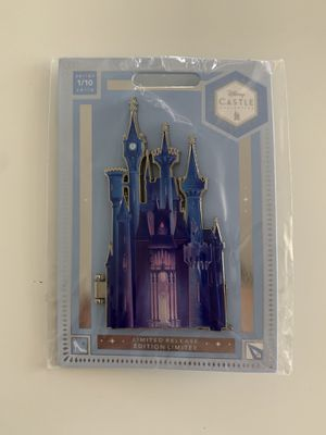 Cinderella Castle Pin – Disney Castle Collection – Limited Release for Sale in Covina, CA
