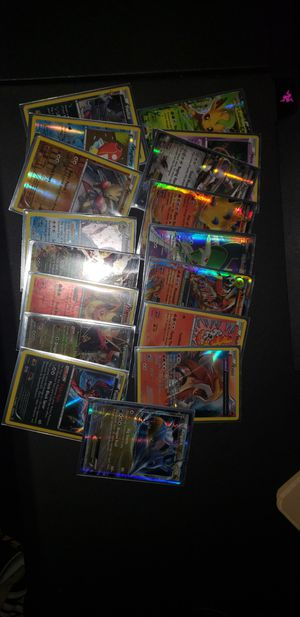 Pokemon card collection - 15+ rares in foil plus more not in foil for Sale in Tracy, CA