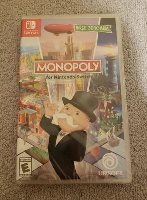 Monopoly for Nintendo Switch (Nintendo Switch, 2017) NEW SEALED for Sale in Darien, IL