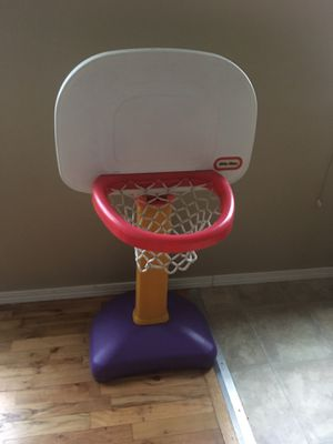 Basketball hoop with an adjustable stand for Sale in Seattle, WA