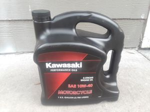 Kawasaki Motorcycle performance oil for Sale in Jacksonville, FL