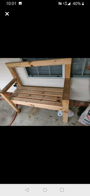 2x4 bench for Sale in Alma, AR