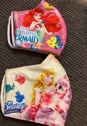 Face mask for girls both for $12 for Sale in Miami, FL