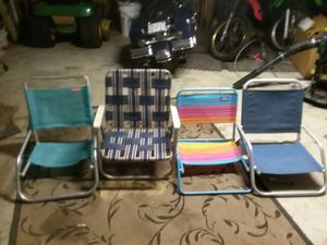 Beach chairs (4) for Sale in Fort Washington, MD