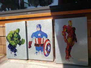 Superhero wall hanging for Sale in Windsor Hills, CA